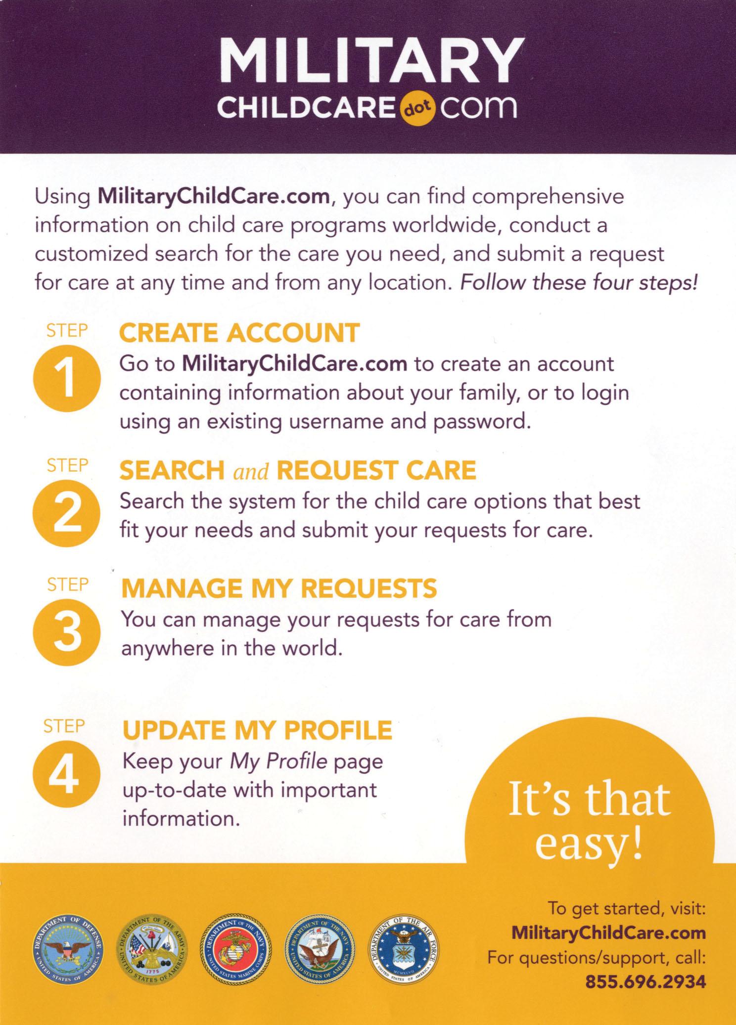 Virtual Carlisle Barracks Child & Youth Services Registration