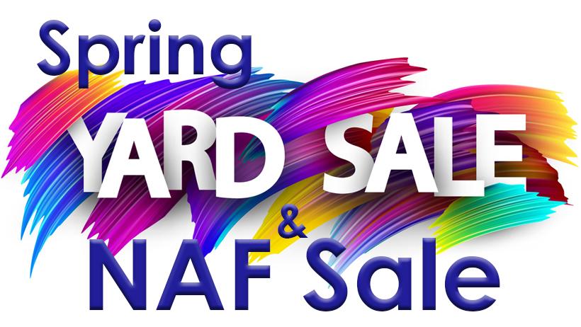 Spring Yard Sale & NAF Sale