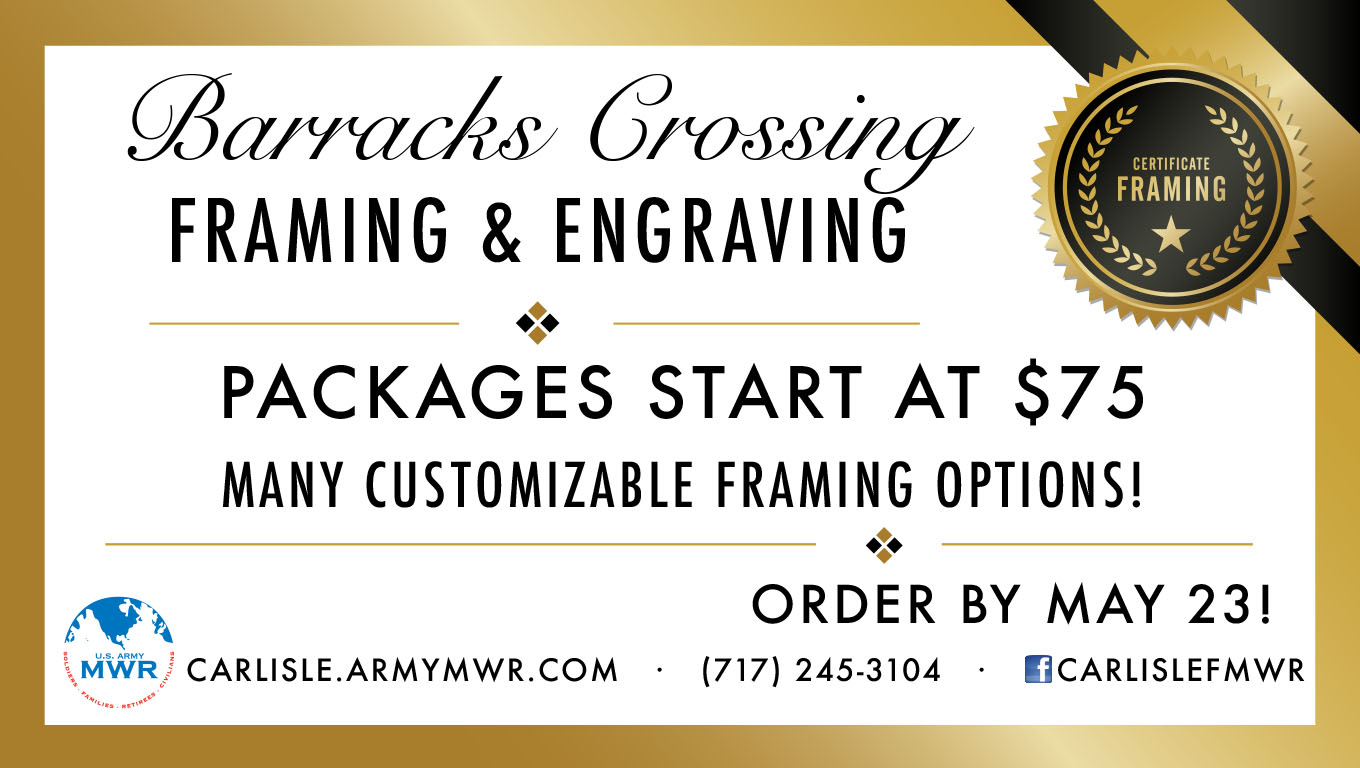 Professional Framing for AWC Student's Masters and Diploma