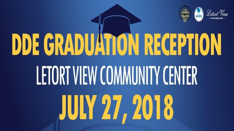 DDE Graduation Reception