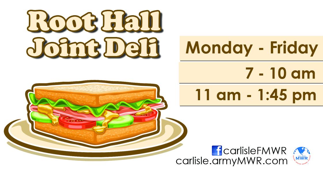 Root Hall Deli - Weekly Specials