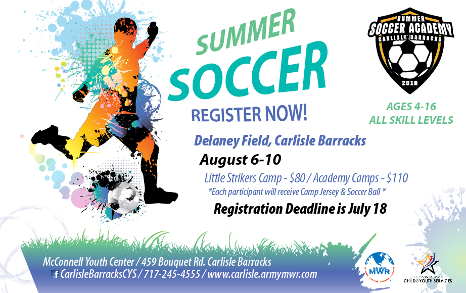 8eff396cc US Army MWR :: View Event :: Summer Soccer Academy